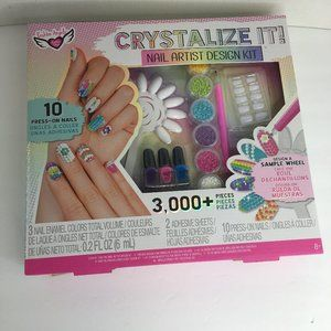 Fasion Angels Crystalize It Nail Artist Deisgn